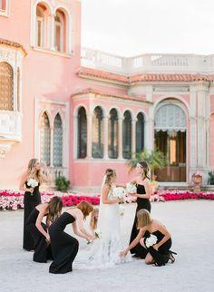Fabulous wedding at Villa Ephrussi de Rothschild in French Riviera Groom Attire, Wedding Bridesmaid Dresses, French Riviera, Wedding Venues, Chateaus, Party Photos, Bridal, Villas, France