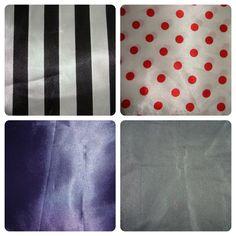 Seda e setim: verificar se o que você quer encomendar e possível fazer com estes tecidos.
