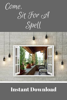What a welcoming site for a wall in your home. Scroll thru to see all the examples for this Instant Download. It goes well with farmhouse decor, rustic decor and in many different rooms. Only $8.00  #ad #farmhousedecor #printable