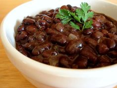 Chili's Black Beans - Make your favorite Restaurant & Starbucks recipes at home with Replica Recipes!