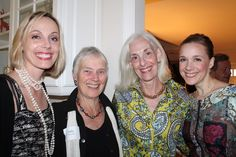Lending their support to the Portland Chamber Music Festival are host committee members Jessica Smart of Portland with Sally Bancroft of Cumberland, Melanie Stewart Cutler of Cape Elizabeth and Suzanne Nance of Chicago.