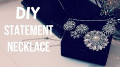 DIY: Statement Necklace (J Crew Inspired)