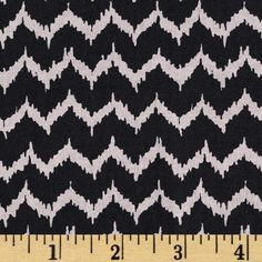 Spooktacular Too Halloween Ikat Black from @fabricdotcom  Designed by Maude Asbury for Blend Fabrics, this cotton print is perfect for quilting, apparel and home decor accents.  Colors include black and purple-grey.