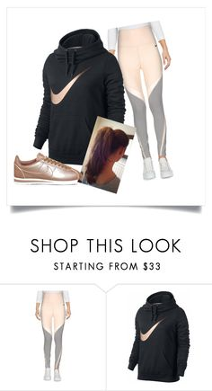 """""""Nike inspired"""" by livingforfashion22 ❤ liked on Polyvore featuring NIKE"""
