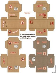 DIY - Printables - 3D (FREE) on Pinterest | Paper Toys, Paper Models ...