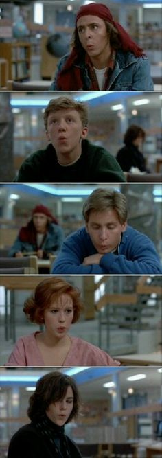 I. Love. This. Movie. The Breakfast Club.