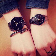 e6ec682a7ab 2017 BGG Brand Fashion Stainless Steel Diamond-shaped Surface Women Quartz  Watch White Black Lover s Wristwatch Relogio Feminino