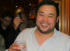 David Chang enjoying himself at the dinner at Elkano in Getaria, The Basque Country.  Photograph by Gerry Dawes©2010. Contact gerrydawes@aol.com