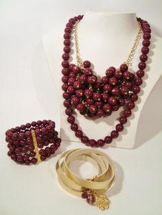 Tom do inverno. Maxcolar bijuteria. Algumas peças estão na nossa loja virtual www.nandasa.com.br