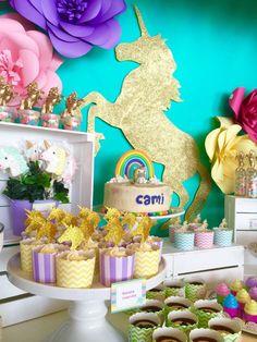 Camila's Enchanted Unicorn Party | CatchMyParty.com