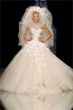 Wow them with this over the top #weddingdress www.CaboBeachWeddings.com
