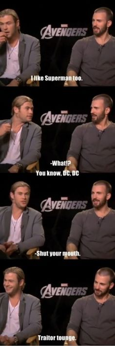 I want to see Thor and Superman fight now.