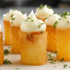 "Las Patatas: ""bravas"" al estilo Arola  Spicy fried potatoes by Sergi Arola"