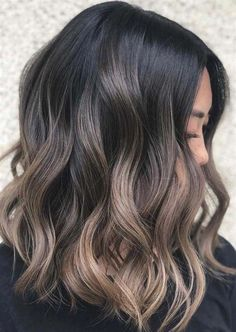 53 ideas for hair long ideas hot haircuts – Coupe Cheveux Balayage Straight, Brown Hair Balayage, Brown Blonde Hair, Hair Color Balayage, Hair Highlights, Balayage Brunette, Black Hair, Cool Brown Hair, Dark Ombre Hair