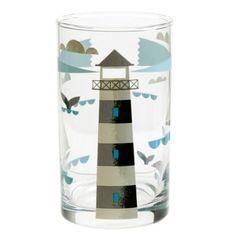 Ahoy Table Glass - Lighthouse £6.50