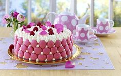 Macaron-Cookie-Torte Rezept   LECKER