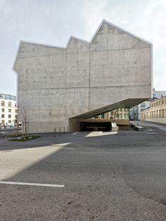 Kuster Frey Fotografie, Photographie, Luzern - EMF Fribourg, Graber Pulver Architekten -