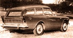 http://chicerman.com  carsthatnevermadeit:  Sunbeam Alpine Shooting Brake 1960. Apparently concerned that their new Alpine was seen asladies carRootes decided to target a different market by offering a Shooting Brake version.With leather interior and walnut trim its price was double that of the convertible and only three Shooting Brakes were ever made  http://ift.tt/1OLNATq  #cars