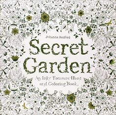 Secret Garden: An Inky Treasure Hunt and Coloring Book: Johanna Basford: 9781780671062: AmazonSmile: Books