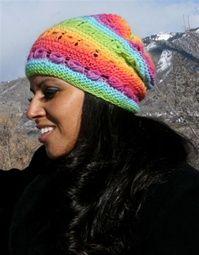 Arco Iris Hat free pattern