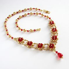beadwoven necklace | Flickr - Photo Sharing!