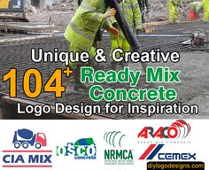 104+ Top Ready Mix Concrete Business Logo Design #logo #logodesign #concrete