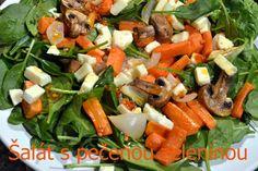 FOODEPENDENCE: Šalát s pečenou zeleninou.