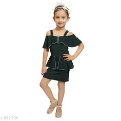 Frocks & Dresses Elegant Cotton Lycra Blend Kids Dresses Fabric: Cotton Blend Sleeve Length: Short Sleeves Pattern: Solid Multipack: Single Sizes: 2-3 Years (Bust Size: 9.5 in Length Size: 21 in) Country of Origin: India Sizes Available: 2-3 Years, 3-4 Years, 4-5 Years, 5-6 Years, 6-7 Years, 7-8 Years   Catalog Rating: ★4.2 (518)  Catalog Name: Free Mask Agile Fancy Girls Frocks & Dresses CatalogID_1053415 C62-SC1141 Code: 473-6611184-429