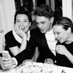 Xavier Dolan en compagnie de ses actrices fétiches #AnneDorval #SuzanneClément