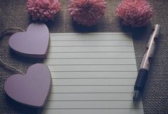 Free stock photo for mockup with cute decoration of pink dry flowers, wooden pink hearts, fountain pen on sackcloth textured rustic background with negative space for write message, add any text, add a photo or your own design. Free Stock Photos, Free Photos, My Photos, Rustic Background, Textured Background, Project Yourself, Dried Flowers, Royalty Free Images, Arts And Crafts