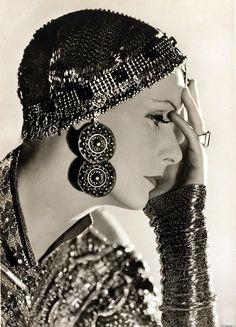 "Greta Garbo ""Mata Hari"" by Clarence Sinclair Bull,1931 by greta_g, via Flickr"