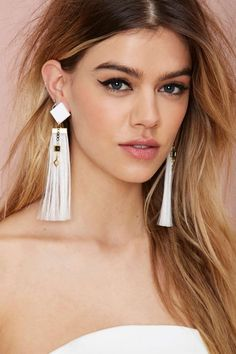 Suzywan Deluxe Amira Tassel Earrings | Shop Accessories at Nasty Gal