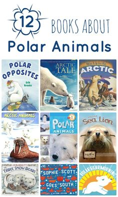 Learn about polar bears, sea lions, penguins and more with these fiction and nonfiction books about polar animals