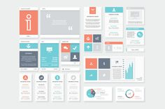 Check out Clean and Fresh Infographic Elements by Infographic Template Shop on Creative Market