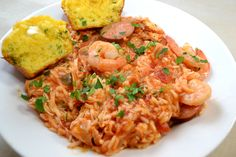 Easy Slow Cooker Jambalaya - http://joshuatrent.com/easy-slow-cooker-jambalaya The rice is never cooked through so I'm going to add more broth & add the rice at the beginning...*crossing fingers*