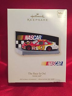 Hallmark Keepsake NASCAR the Race Is on 2007 Magic Christmas Ornament *** This is an Amazon Affiliate link. Find out more about the great product at the image link.
