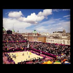maddielay12's photo  of London 2012 venue - Horse Guards Parade on Instagram