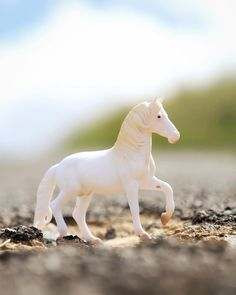 Breyer CollectA Series Black And White Piebald Gypsy Foal Model Horse