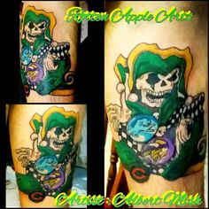 Rotten Apple Arts. ..Artist : Albert Mish