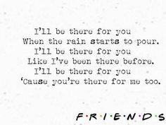Friends theme song lyrics