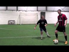 how to teach first touch soccer