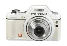 Amazon.com : Pentax Optio I10 12.1 MP Digital Camera with 5x Wide Angle Optical Image Stabilized Zoom and 2.7-Inch LCD (Pearl White) : Point And Shoot Digital Cameras : Camera & Photo