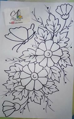50 Ideas for drawing christmas embroidery designs 50 Ideas for drawing christmas embroidery designs Hand Embroidery Designs, Embroidery Stitches, Embroidery Patterns, Colouring Pages, Coloring Books, Rose Stencil, Christmas Embroidery, Fabric Painting, Flower Designs