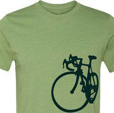 T-shirt-La Bicicleta de bicicleta-bicicleta de carretera de la