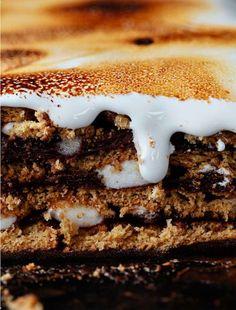 S'more Pudding Cake Recipe