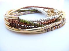 Delicate Indian Beads Friendship Bracelet