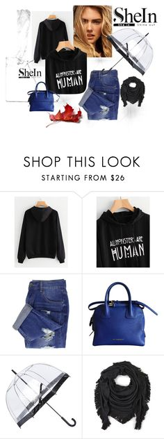 """""""set"""" by sanela-m ❤ liked on Polyvore featuring Burberry, Fulton and Echo"""