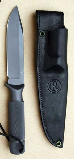 CHRIS REEVE Mountaineer II Fighting Tactical Fixed Knife Blade