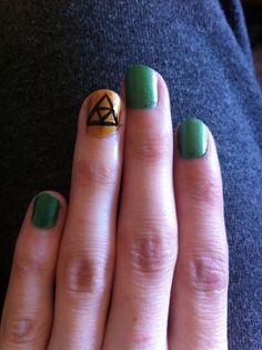 The Legend of Zelda inspired nails