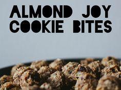 Almond joy cookie bites by Ashlae | oh, ladycakes, via Flickr
